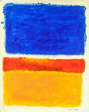 MARK ROTHKO Oil on Canvas Abstract