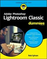Adobe Photoshop Lightroom Classic for Dummies, Paperback by Sylvan, Rob, Like...
