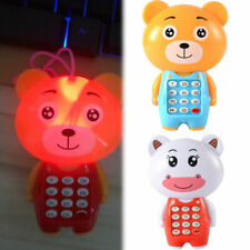 Kid Music Phone Boy Light up Mobile Toddler Cell Toys Girl Educational Toy Baby