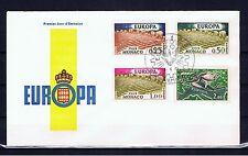 MONACO - Europa CEPT 1962 - FDC Juin 6, 1962