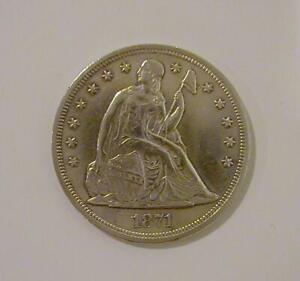 1871 Seated Liberty U.S. Silver Dollar ****Very Nice Coin***