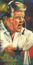 Jimmy Johnson Autographed Limited Edition Fine Art Print Signed Cowboys