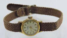BWC Swiss Handaufzug Damen Armbanduhr vergoldet