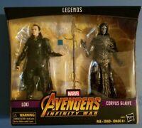 Marvel Legends Loki & Corvus Glaive 2-Pack Infinity War