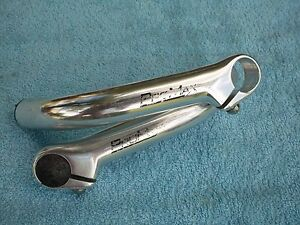 Used retro vintage Bar Ends ProMax total length 160 mm 16 cm alloy