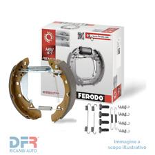 1 FERODO Kit ganasce freno Assale posteriore 106 Mk II 106 Van 206 SW 206 Van