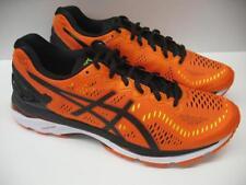 ASICS T646N Gel Kayano 23 Performance Running Racing Shoes Orange Black Mens 11