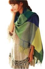 Moda Donna 1 pz inverno caldo sciarpa dello scialle miscela del cotone lung B4D8