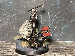 Lord Of The Rings MESBG Warhammer Armoured Azog On White Warg