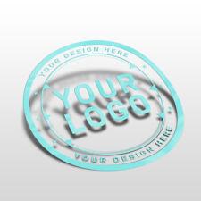 Custom Bespoke Clear Transparent Packaging Label Promotional Cut Vinyl Stickers