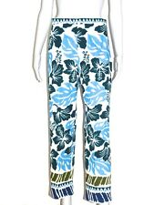 PRADA Hose Cropped Pants Print Multicolor It 44 De 38 Neu/special