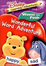 Winnie The Pooh: Wonderful Word Adventure (DVD, 2006)