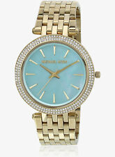 Michael Kors MK3498 Ladies Darci Gold Steel Bracelet Watch