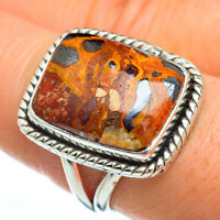Chert Breccia 925 Sterling Silver Ring Size 8.5 Ana Co Jewelry R45338F