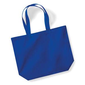 Westford Mill Lightweight Organic Premium Cotton Maxi Large Shoulder Tote Bag