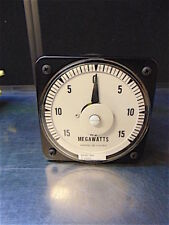 General Electric Ac Megawatts Gauge - Good Cosmetic Condition - S3109