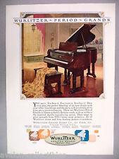 Wurlitzer Grand Piano PRINT AD - 1925