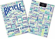 BICICLETTA ** Table Talk ** carte da gioco. * Blu * SIGILLATO NUOVO. GRATIS P&P.