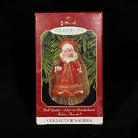 Hallmark Keepsake Red Queen Alice in Wonderland Madame Alexander Ornament 1999