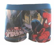 Spiderman Jungen ' S Boxer Shorts / TRUNKS Alter 7-10 Jahre Erhältlich