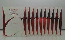 Cartier Delices De Cartier 1.5ml (12 spray samples)  Women's Eau de toilette