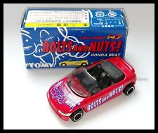 TOMICA BOLTS AND NUTS HONDA BEAT 1/50 TOMY DIECAST CAR New 72 RED