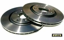 2x BOLK Disques de Frein Arrière Ventilé 316mm pour NISSAN PATROL BOL-D011741