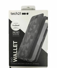 Tech21 Evo Wallet Case Card Slots Card Storage For iPhone 8 iPhone 7 Black Camo