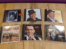 (6) Frank Sinatra CD Lot Bundle The very Best Hits The Concert Antonio Carlos