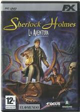 Sherlock Holmes: La Aventura (Aventura Grafica PC)