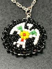 Native American Vintage Hand Beaded Charms Phoenix D922