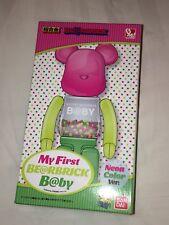 MEDICOM BEARBRICK 'MY FIRST BABY' 200% NEON