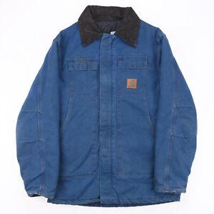 Vintage CARHARTT Lined Worker Blue 00s Regular Casual Outdoor Jacket Mens M