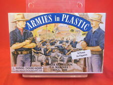 Armies In Plastic AIP 1/32nd Boxer Rebellion U.S. Marines China 1900 5508 NEW!
