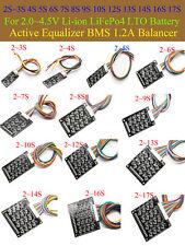 Active Equalizer BMS 1.2A Balancer 2S ~7S  8S ~17S Li-ion Lifepo4 LFP Battery