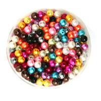 Lot 50 Perle imitation 6mm Mixte, Pour vos creation Bijoux, Collier, ...