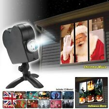 Halloween Xmas Wonderland Holiday Festival Window Projector Projection Light Hot