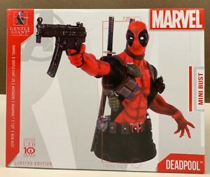 Gentle Giant Collectible Marvel DEADPOOL Mini Bust NEW
