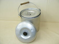 antique GDR Thermal Food tubs, Field kitchen Gulaschkanone Food Storage