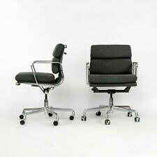 2010s Herman Miller Eames Aluminum Group Soft Pad Management Desk Chair W Fabric