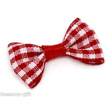 Hx 100 Red Ribbon Bow Wedding Scrapbooking Embellishment
