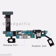 Samsung Galaxy S6 G920V Headphone Jack Charger Port Home & Sensor Key Mic Flex