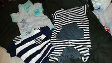 2 X Pequeño Ropa para Bebé Niños De Hasta 3 meses siguiente/Disney/George trajes T Shirt