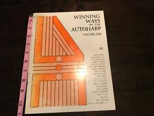 Winning Ways On the Autoharp vol 1 & 2 1985 I.A.D. Publications (RARE) Signed