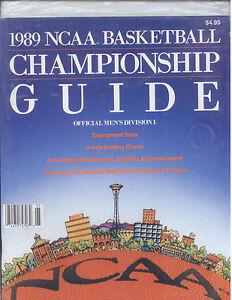 1989-NCAA Basketball Championship Guide Title