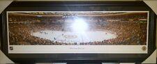 Boston Bruins NHL Panoramic Arena Photo Framed 43x18