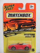 MATCHBOX 1993  MUSTANG MACH III RED #15