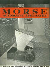 Morse Automatic Fuel-Saver brochure Heating & Power Morse Chain Co