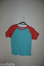 TEE SHIRT BASIC ONE  TAILLE 9/10 ANS TOP  NEUF ETIQUETTE 100% COTON