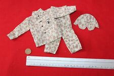 DRAGON 1:6TH SCALE WW2 USMC BEACH SIDE TUNIC, TROUSERS & HELMET COVER CB32687